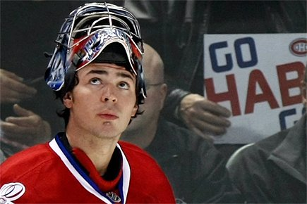 carey price wallpaper. hot carey price 2011 mask.